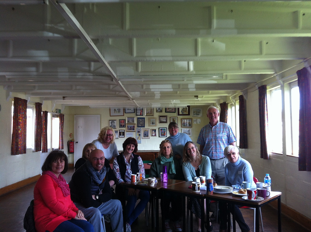 First meeting at Fleetville Community Centre April 2016