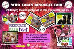 Who Cares Resource Fair