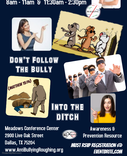Don't Follow The Bully