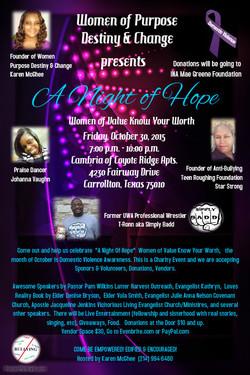 Women of Purpose Event