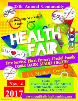 VA Medical Center Health Fair