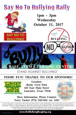 SAY NO TO BULLYING RALLY