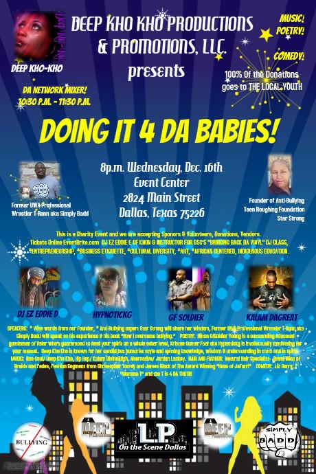 DOING IT 4 DA BABIES event