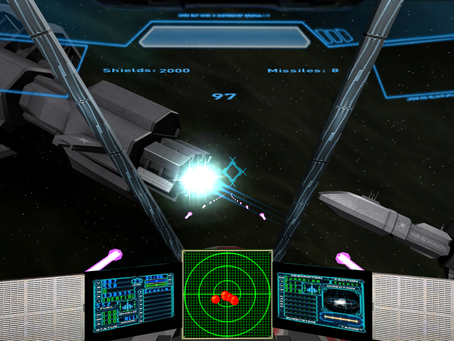 Space01 - 3D space simulator game available for Oculus Rift