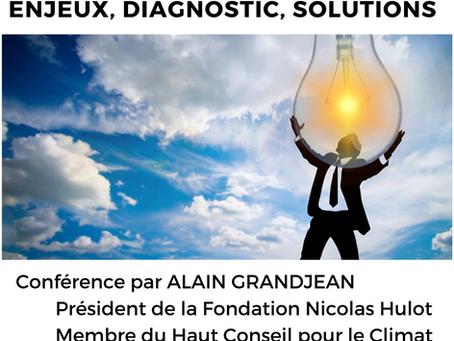 Conférence débat # La transition écologique dans nos territoires ; enjeux, diagnostics, solutions #