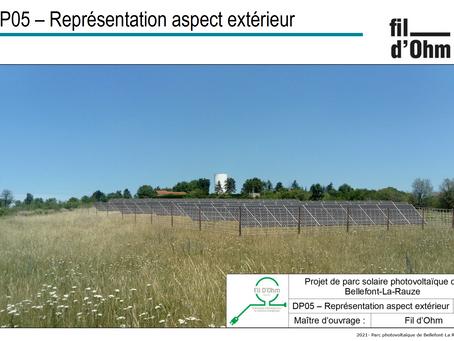 Présentation du projet de 1er Parc Solaire à la DDT # extrait de la pré-étude technique