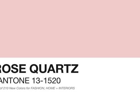 Главный цвет 2016 года - Розовый кварц