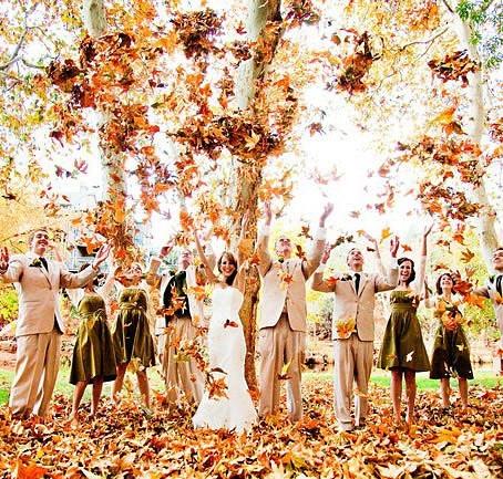 7 «ЗА» осеннюю свадьбу