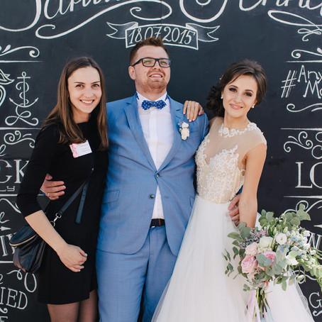 Разница между свадебным организатором и координатором
