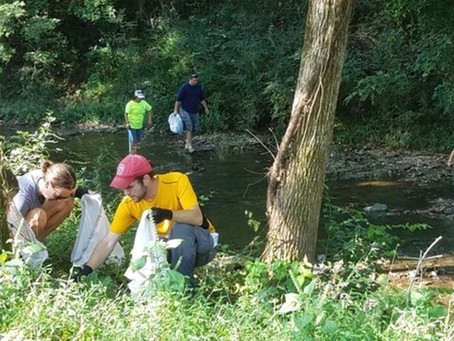 Adopt a Stream!                           We've partnered with Cumberland  Compact to adopt Mill