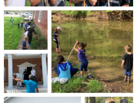 You Made a Difference at our Spring Mill Creek Cleaning!