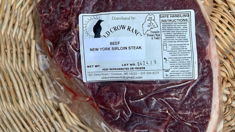 NY Sirloin Beef Steak