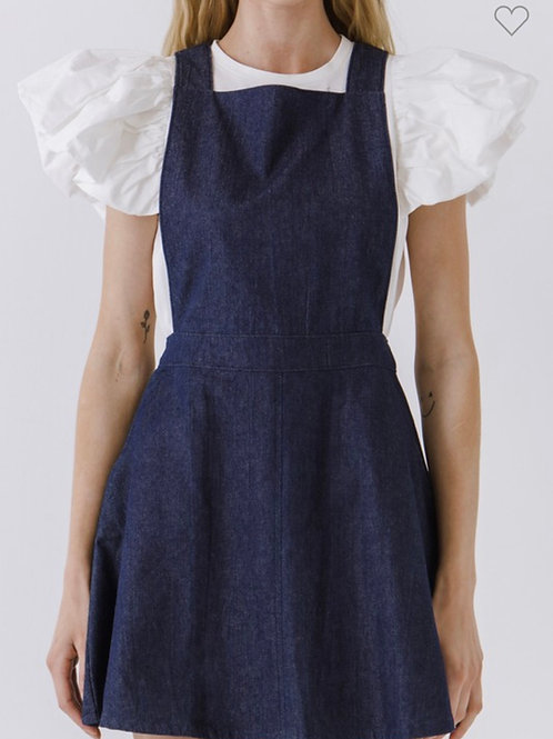 Little Denim Dress (SHIRT NOT INCLUDED)