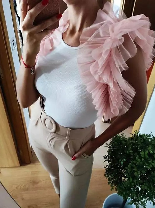 Pink Tulle Jacket