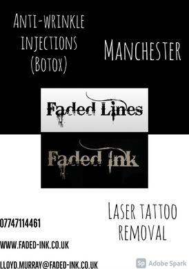 Faded Ink & Faded Lines