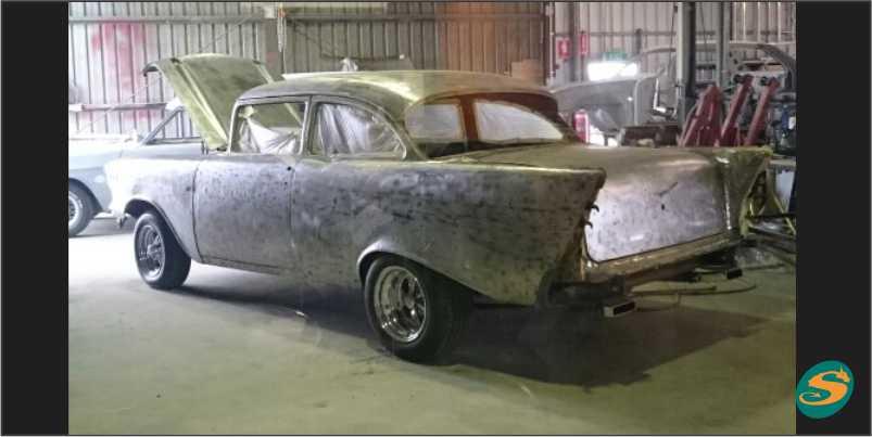 1957 Chevrolet (Progress1)