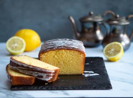 Torta al limone e mascarpone con glassa al limone per il Calendario del Cibo Italiano