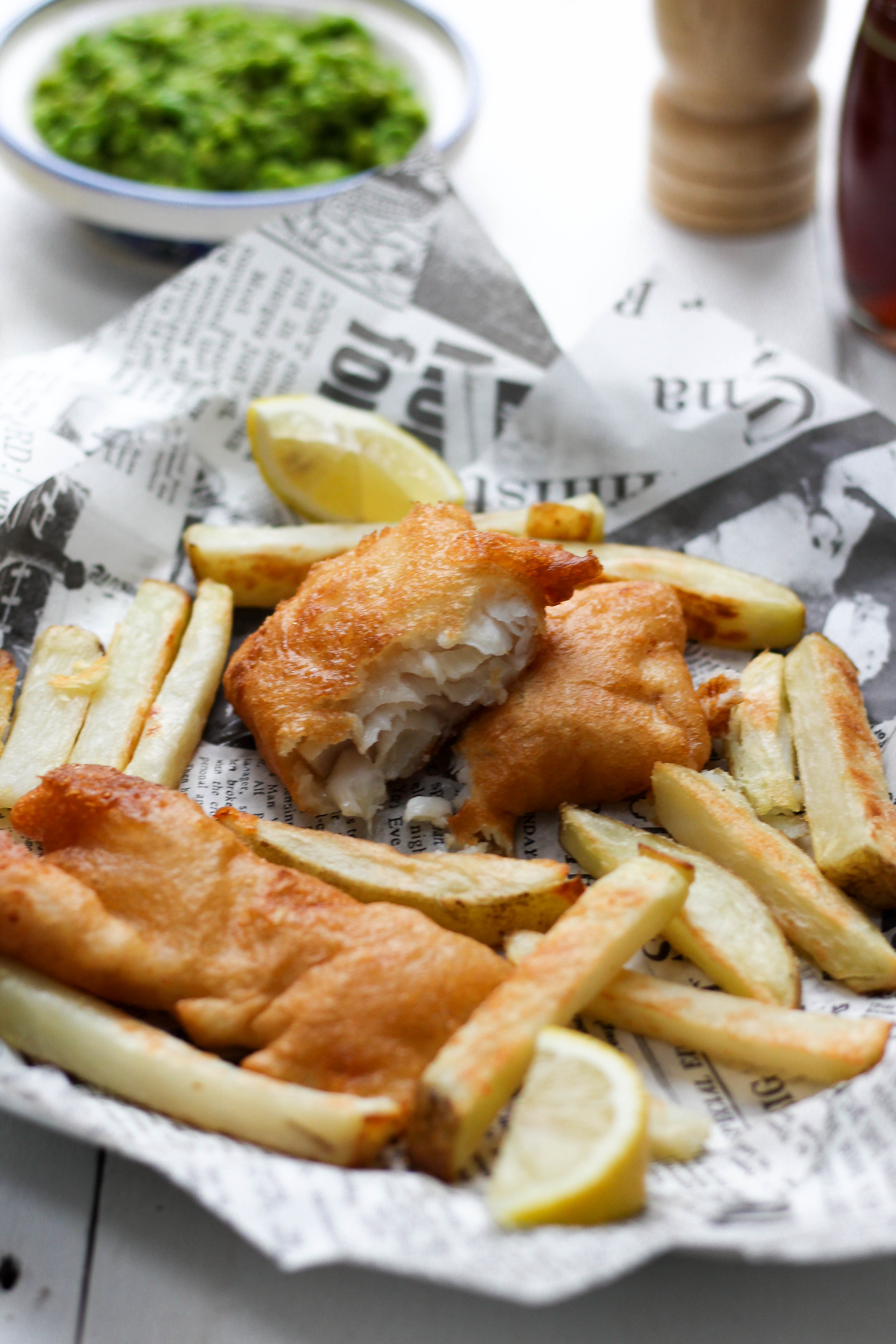Baked Fish&Chips