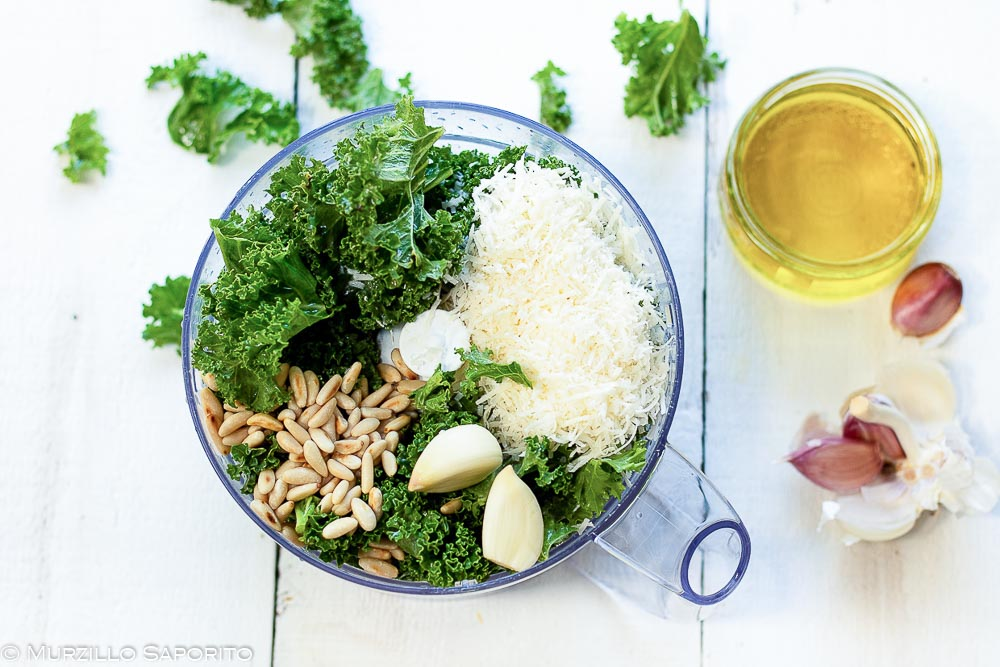 Pesto di kale