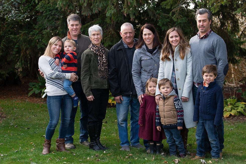 Warriner Family Nov 2019
