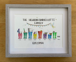 The Hewson-Barsellotti Wellies (SmellieArt)