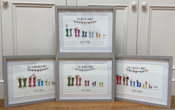 Personalised Welly Paintings (SmellieArt)