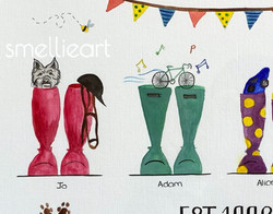 Boote Family (SmellieArt)