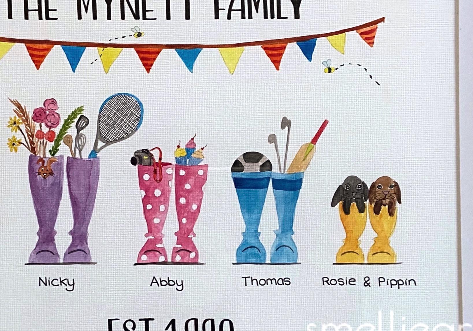 Mynett family (SmellieArt)