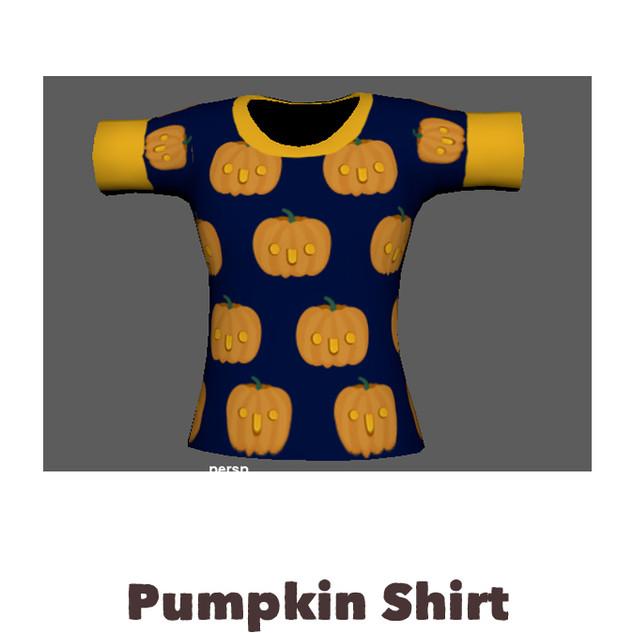Custome Digital Pumpkin Shirt