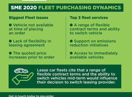 What do SME Fleets require during the vehicle purchasing process?