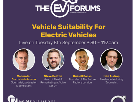 The Vehicle Suitability for Electric Vehicles Webinar sponsored by Volvo Car UK