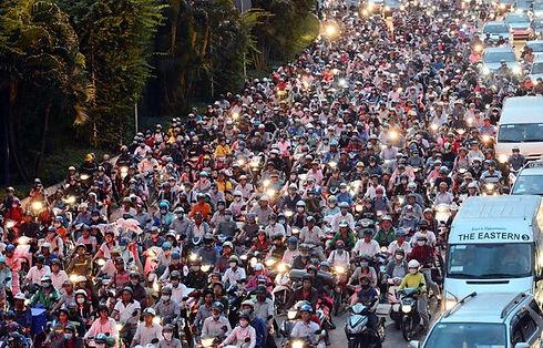 Traffic Jam Vietnam