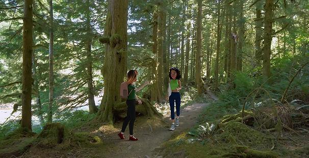 Sini & Gemma on Forest walk.jpg