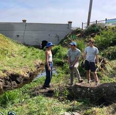 volunteers at Woodrow & WestCliff