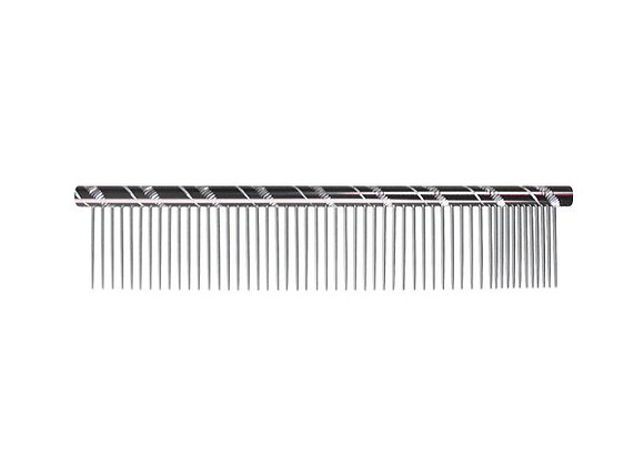 Peigne en acier strass 20cm
