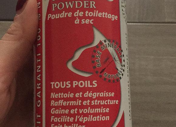 shampoing sec 100% naturel
