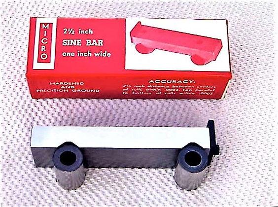 2 & 1/2 Inch Sine Bar