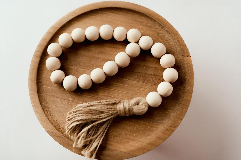 Small loop bead garland