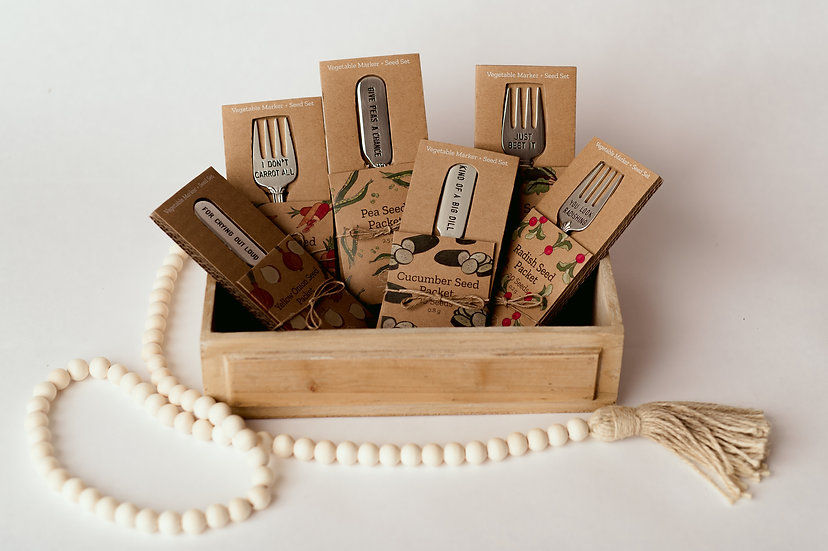 Seed and marker set