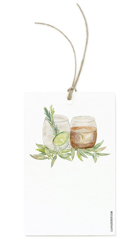 Hand Illustrated Gift Tags
