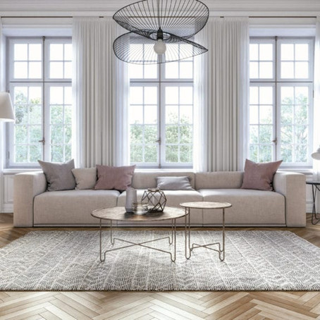Foolproof Ways to Style An Area Rug in Your Living Room