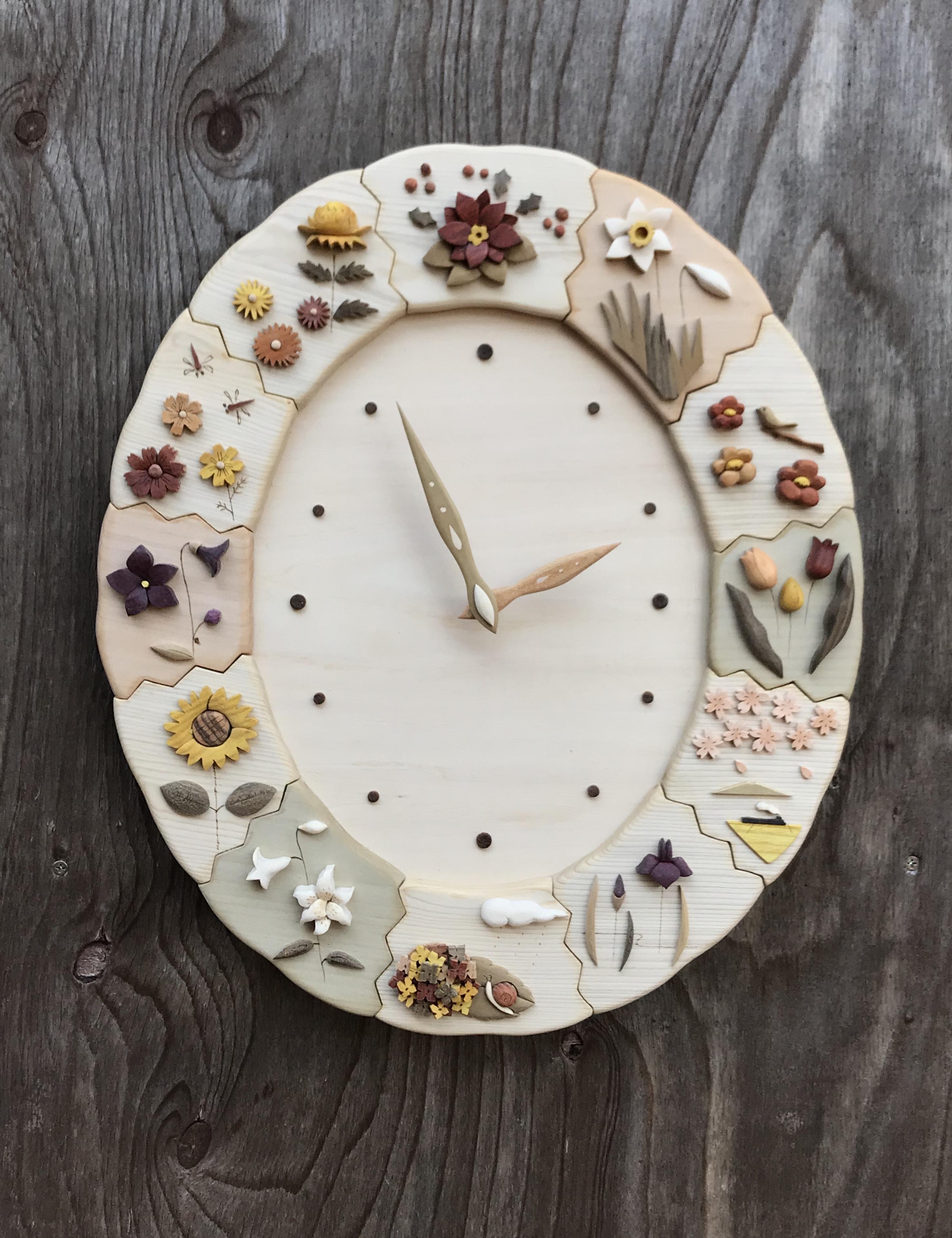 12ヶ月の花時計