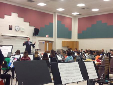 Guest Educators Visit Ensembles