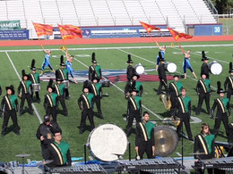 Marching Band Finishes in Top 10 at ACCs
