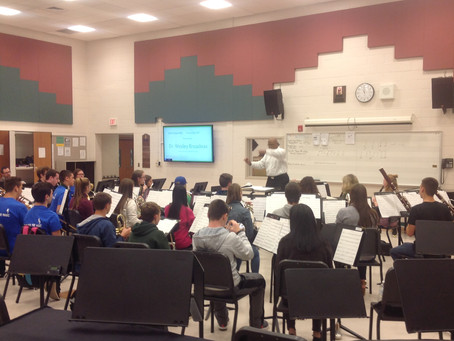 Wind Ensemble Earns Top Honors