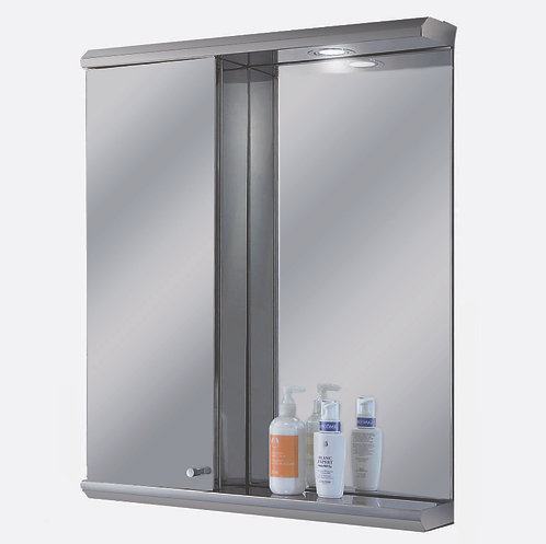 "2328L 23"" x 28"" Stainless Steel Illuminated Medicine Cabinet"