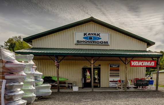 Kayak showroom