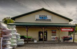 Kayak showroom