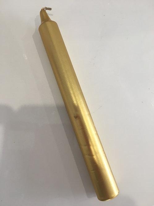 bougie or teintée dans la masse
