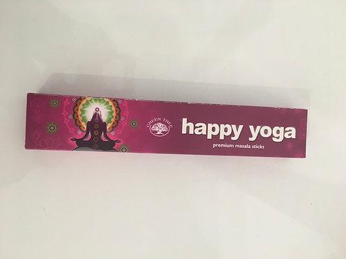 Encens happy yoga